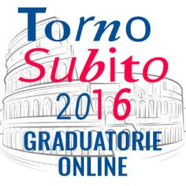 TORNO SUBITO 2016