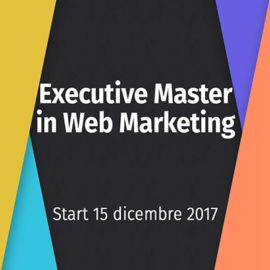 EXECUTIVE MASTER IN WEB MARKETING