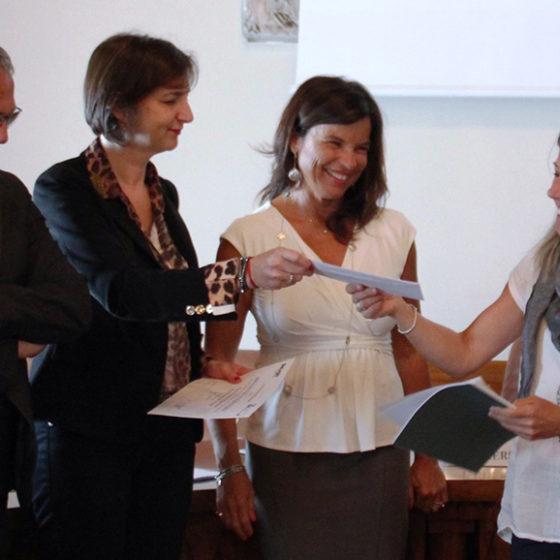 Riceve il premio Denise Giordanella