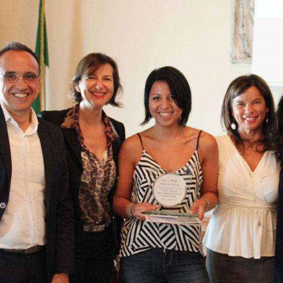Riceve il premio Fulvia Febo