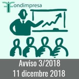 Fondimpresa Avviso 3/2018 – Competitività
