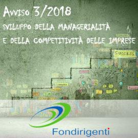 FONDIRIGENTI AVVISO 3/2018