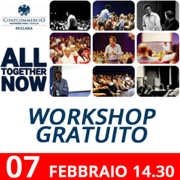 EVENTO – ALL TOGETHER NOW